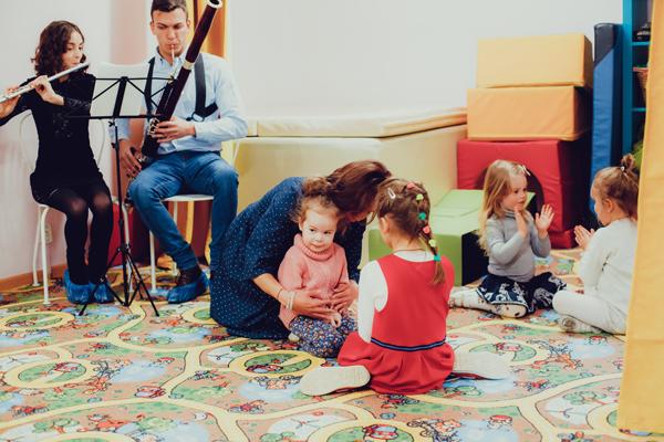 музыкальные занятия студия