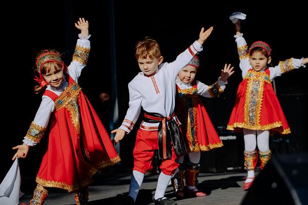 Народные танци для детей