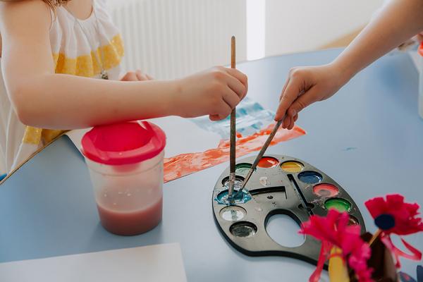 рисование для детей 3 4 лет