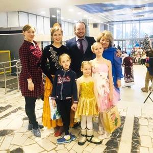 балерины выступали на благотворительном концерте для юных пациентов в ГКБ им. Зои Башляевой в Тушинской больнице