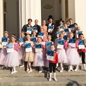 балерины выступали на ВДНХ